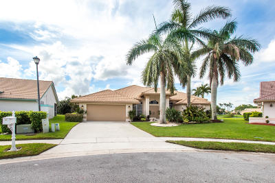 Lake Worth Single Family Home For Sale: 7068 Saint Clair Court