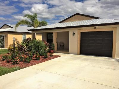 Port Saint Lucie Single Family Home For Sale: 34 Silver Oak Drive