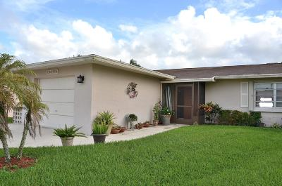 Delray Beach Single Family Home For Sale: 13479 Via Vesta #A