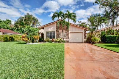 Boca Raton Single Family Home For Sale: 19554 Sea Pines Way