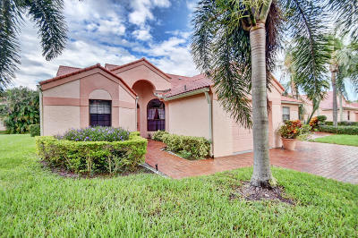 Delray Beach Single Family Home For Sale: 7900 Lexington Club Boulevard #A