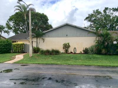 Hypoluxo Single Family Home For Sale: 8097 Ambach Way