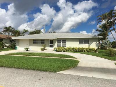 North Palm Beach Single Family Home For Sale: 401 Harbour Road