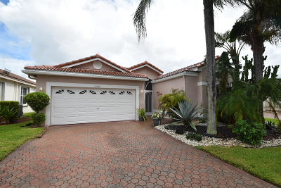 Boynton Beach Single Family Home For Sale: 9548 Honeybell Circle