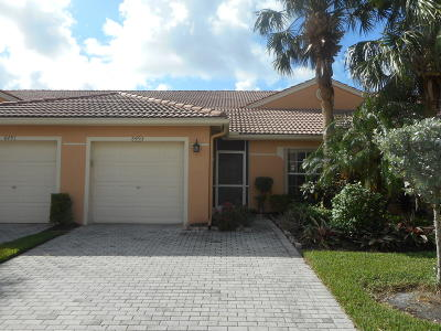 Boynton Beach Single Family Home For Sale: 8493 Logia Circle