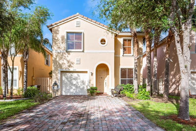West Palm Beach Single Family Home For Sale: 3998 Lake Tahoe Circle