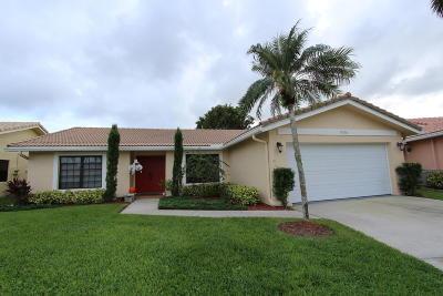 Boca Raton Single Family Home For Sale: 5928 Colony Court