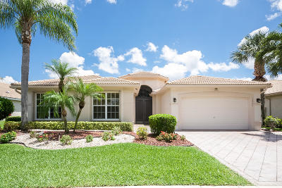 Delray Beach Single Family Home For Sale: 13232 Alhambra Lake Circle