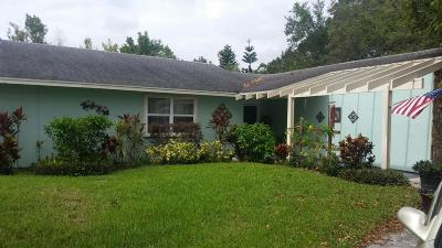 Port Saint Lucie Single Family Home For Sale: 1968 SW Aladdin Street