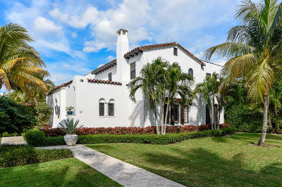 West Palm Beach Single Family Home For Sale: 211 Dyer Road