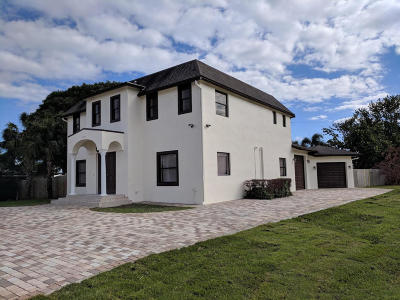 Boca Raton Single Family Home For Sale: 264 NW Spanish River Boulevard