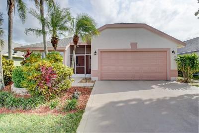 Boynton Beach Single Family Home For Sale: 36 Heather Cove Drive