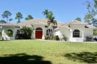 West Palm Beach Single Family Home For Sale: 8539 Coconut Boulevard