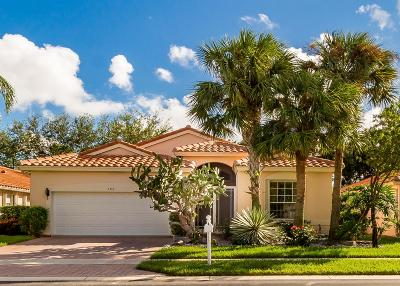 Boynton Beach Single Family Home For Sale: 5352 Wycombe Avenue