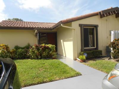 Lake Worth Single Family Home For Sale: 2790 Ponderosa Pine Court