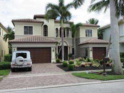 Boca Raton Single Family Home For Sale: 17846 Monte Vista Drive