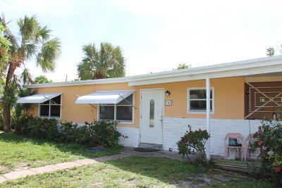 Lantana Single Family Home For Sale: 706 W Palm Street