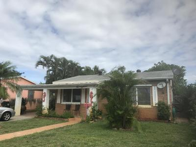 Lake Worth Single Family Home For Sale: 918 D Street