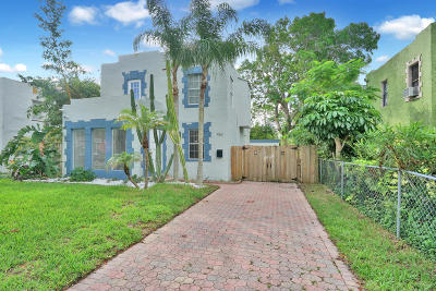 West Palm Beach Single Family Home For Sale: 952 39th Court