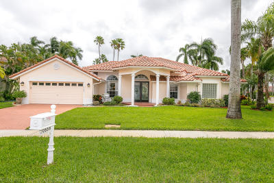 Boca Raton Single Family Home For Sale: 10666 Maple Chase Drive