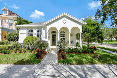 Jupiter Single Family Home Contingent: 139 Poinciana Drive