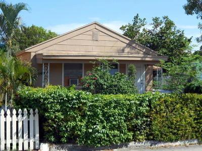 Lake Worth Single Family Home For Sale: 502 E Street