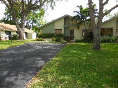 Delray Beach Single Family Home Contingent: 3669 Arelia Drive