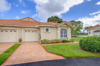 Boynton Beach Single Family Home For Sale: 2628 Crabapple Circle