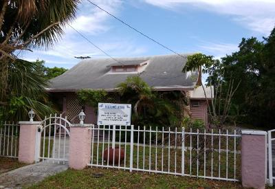 West Palm Beach Single Family Home For Sale: 923 3rd Street