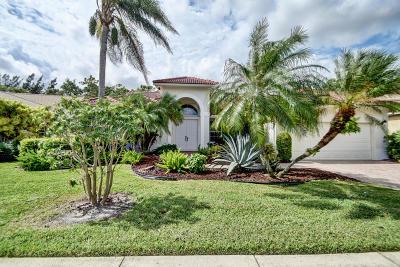 Boynton Beach Single Family Home For Sale: 7832 Bridlington Drive