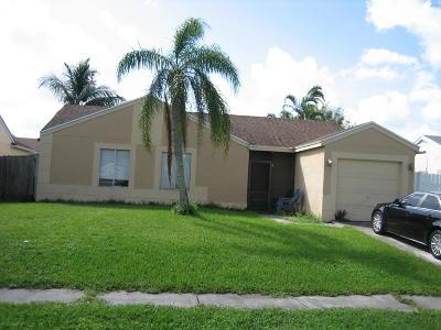 Boca Raton Single Family Home For Sale: 19002 Cloud Lake Circle