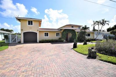 Broward County, Palm Beach County Single Family Home For Sale: 3138 Chapel Hill Boulevard