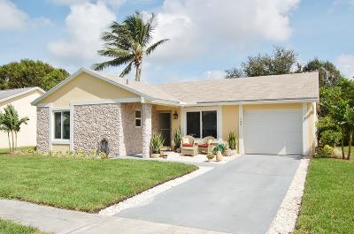 Jupiter Single Family Home Contingent: 137 Timberline Drive