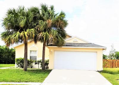 West Palm Beach Single Family Home For Sale: 6124 Azalea Circle