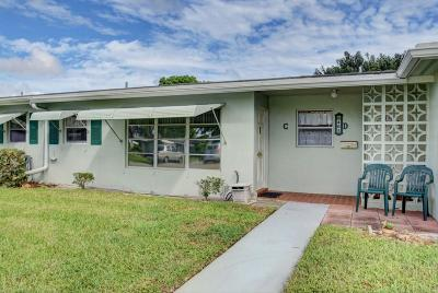 Delray Beach Single Family Home For Sale: 465 High Point Boulevard #C