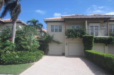 Palm Beach Gardens Townhouse For Sale: 1428 Harbour Point Drive