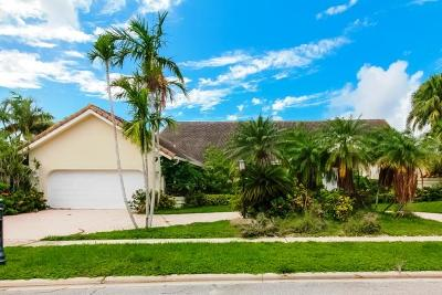 Boca Raton Single Family Home For Sale: 17847 Heather Ridge Lane