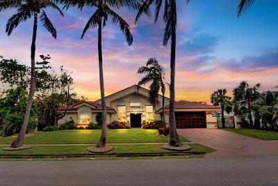 Ocean Ridge Single Family Home For Sale: 21 Coconut Lane