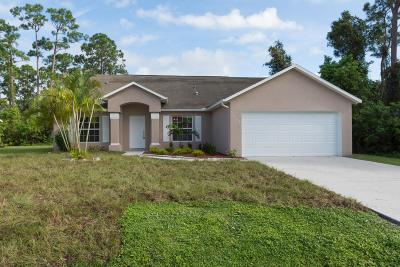 Port Saint Lucie Single Family Home For Sale: 1409 SW Dow Lane