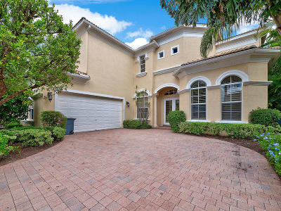 Palm Beach Gardens Single Family Home For Sale: 122 Tranquilla Drive
