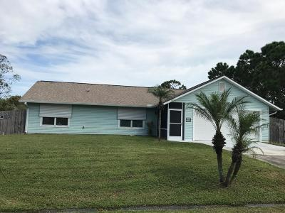 Port Saint Lucie FL Single Family Home Closed: $171,200