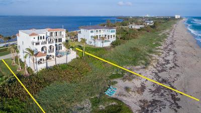 Jensen Beach Single Family Home For Sale: 8004 S Ocean Drive