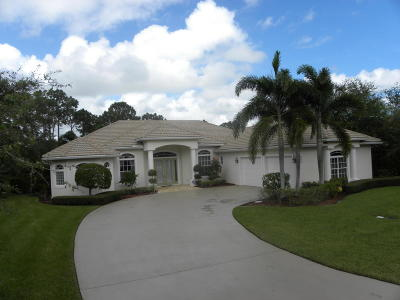 Port Saint Lucie Single Family Home For Sale: 551 SW Sanctuary Drive