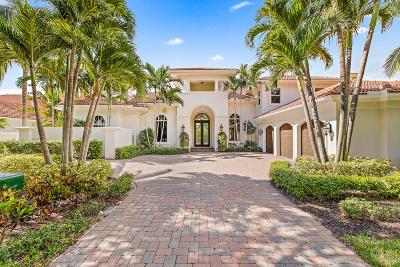 Jupiter Single Family Home For Sale: 349 Regatta Drive