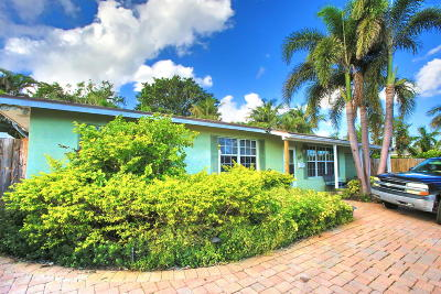 North Palm Beach Single Family Home For Sale: 607 Westwind Drive