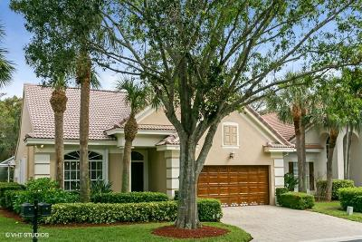 Palm Beach Gardens Single Family Home For Sale: 41 Princewood Lane