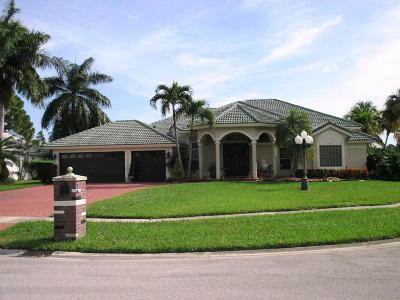 Wellington Single Family Home For Sale: 15715 Cypress Creek Lane