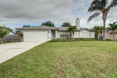 Port Saint Lucie Single Family Home For Sale: 625 NW Biscayne Drive