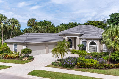 Palm Beach Gardens Single Family Home For Sale: 29 Bermuda Lake Drive