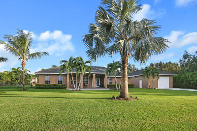 West Palm Beach Single Family Home For Sale: 12137 88th Place